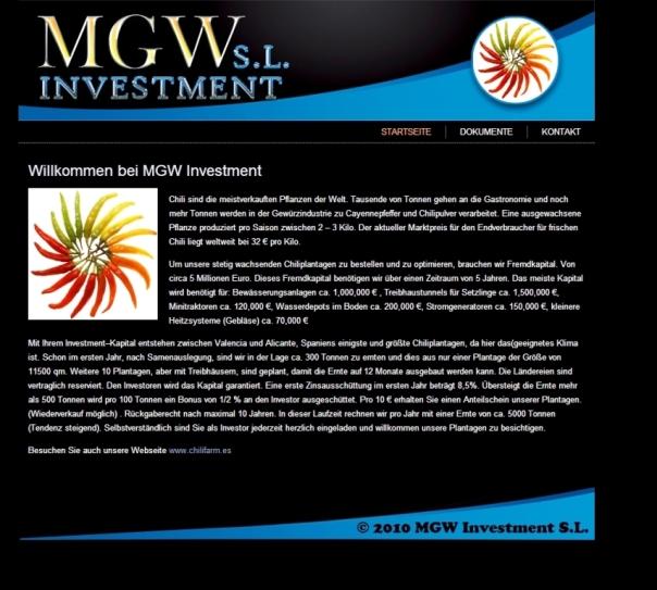 MGW investmenbt