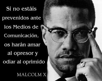Frase Malcolm X