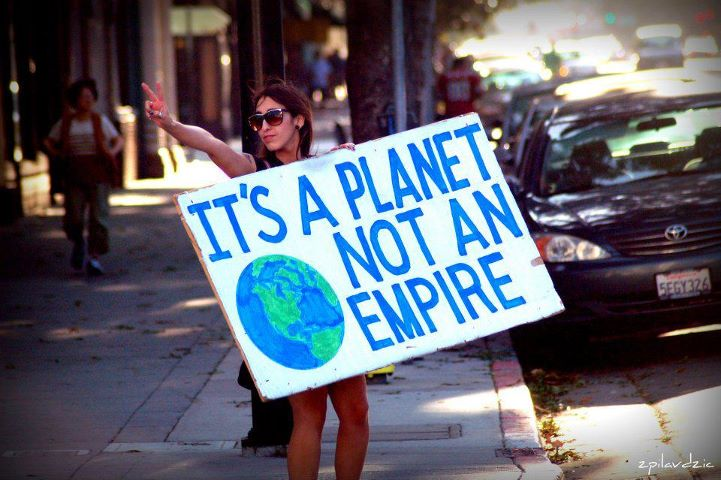 its a planet not an empire