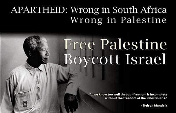 Sabemos muy bien que nuestra libertad es incompleta sin la libertad del pueblo palestino
