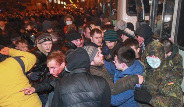 Crisis in Ukraine - Single Ukraine rally in Donetsk
