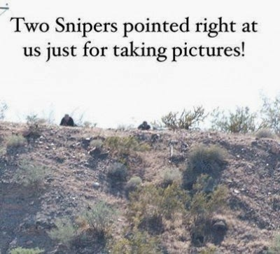 snipers blm
