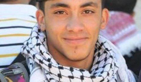 Nadeem Siam Nawara, 17 ans, asesinado el 15 de mayo 2014 por las tropas israélis d'occupation - Photo : DCI