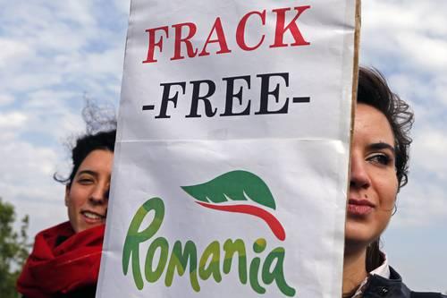 romania free fracking
