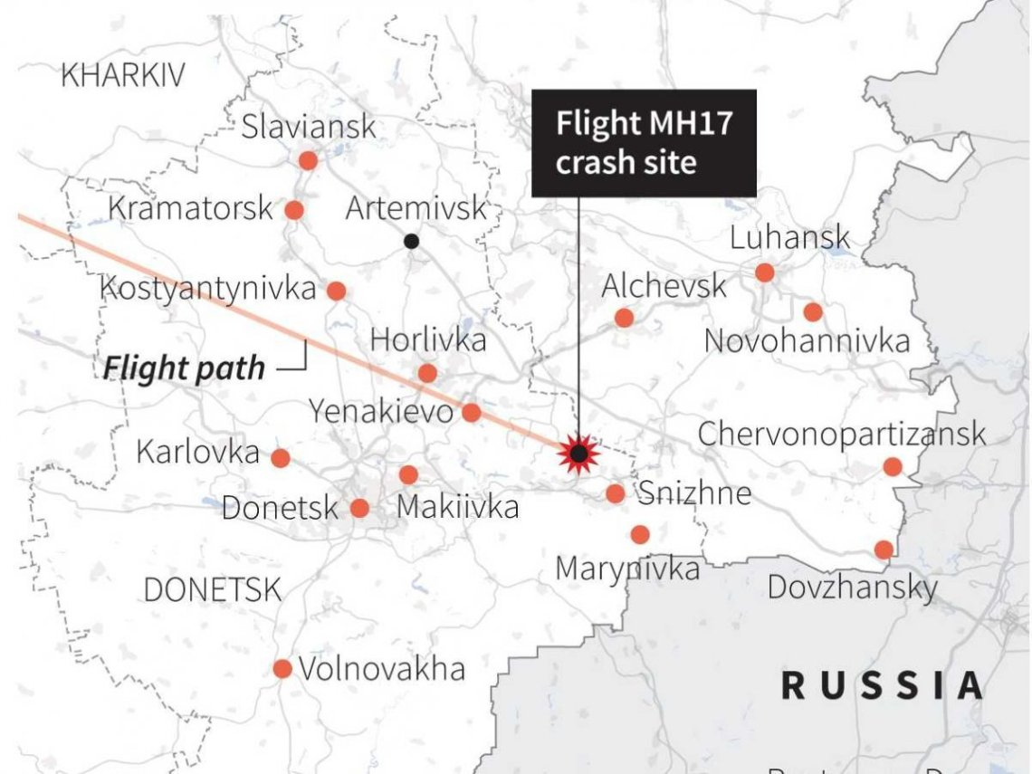 map-malaysia-airlines-crash-ukraine-and-separatist-fighting