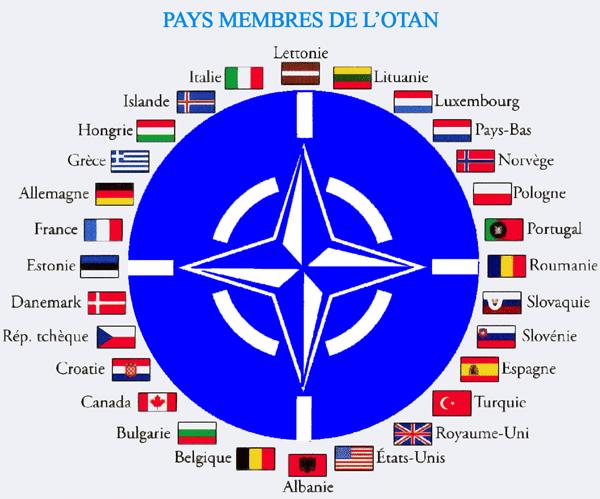 RUSIA contra 29 países (la OTAN)