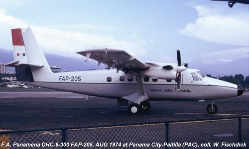 Avión de Torrijos