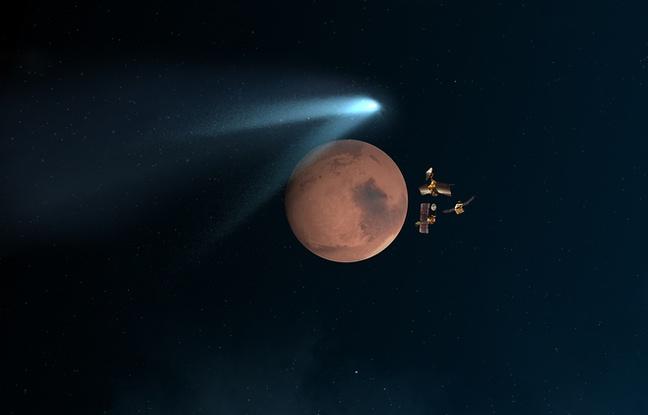 648x415_illustration-passage-comete-siding-spring-pres-mars-19-octobre-2014