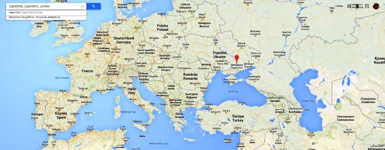 central nuclear Zaporizhira