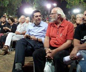 Alexis Tsipras y Éric Toussaint