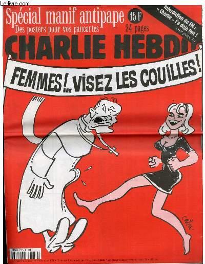 Antiguo Charlie: ¡Mujeres! ¡apuntad las pelotas!