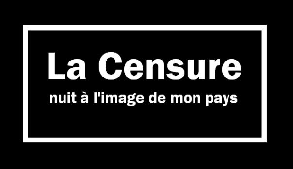 La censura daña la imagen de mi país.