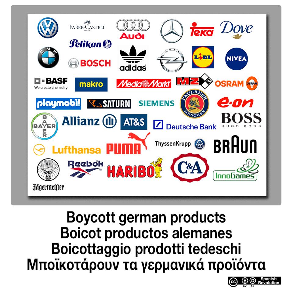 Boicot marcas alemanas y holandesas ya altea te quiero for Marcas de cocinas alemanas