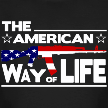 schwarz-the-american-way-of-life-t-shirts_design
