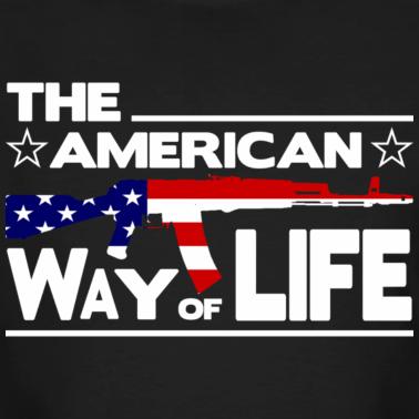 schwarz-the-american-way-of-life-t-shirts_design