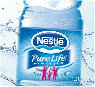 Resultado de imagen de botella de agua etiopia Nestlé